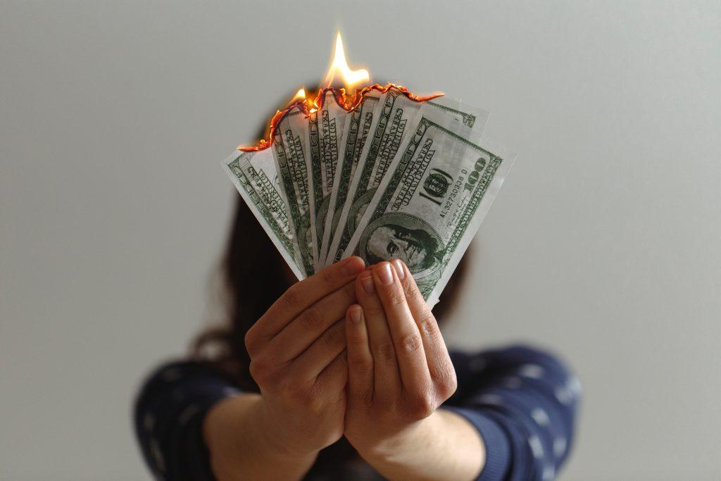 złe podejście do zarabiania pieniędzy